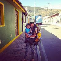 mama viajando por Colombia