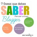 7 cosas que debes saber para ser un buen Blogger