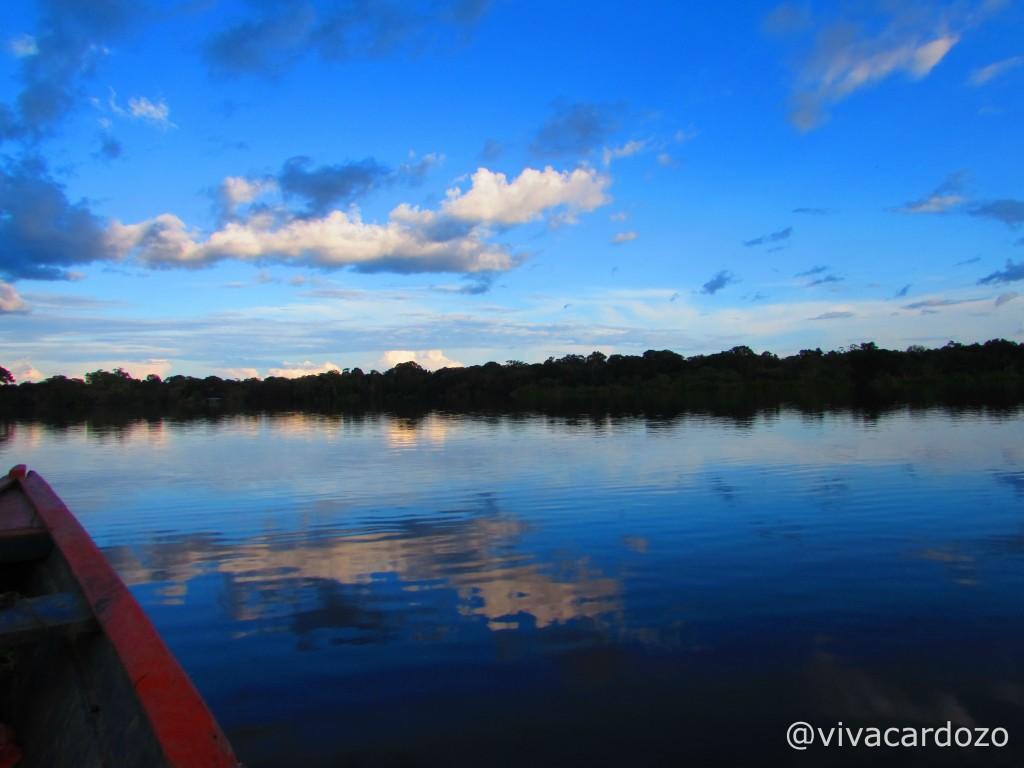 Navegando en el Amazonas