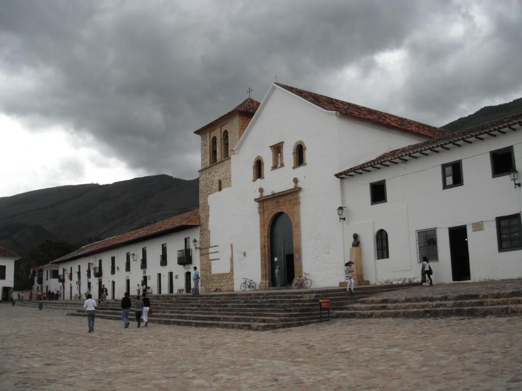 Plaza central Villa de Leyva