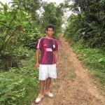 Felix, nuestro guia en el Amazonas