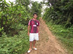 Felix Cuello, guia en el Amazonas