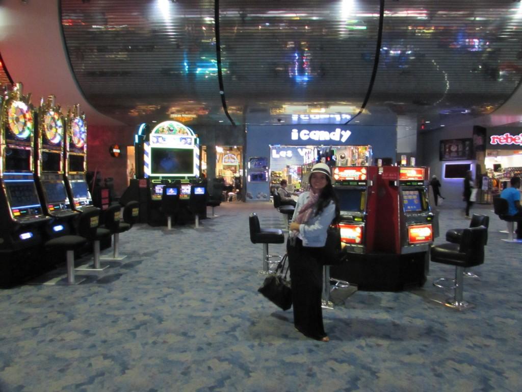 En el Aeropuerto de las Vegas, parece un casino