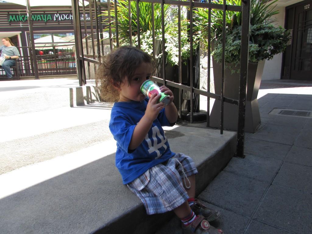 Sammy en little Tokio L.A.