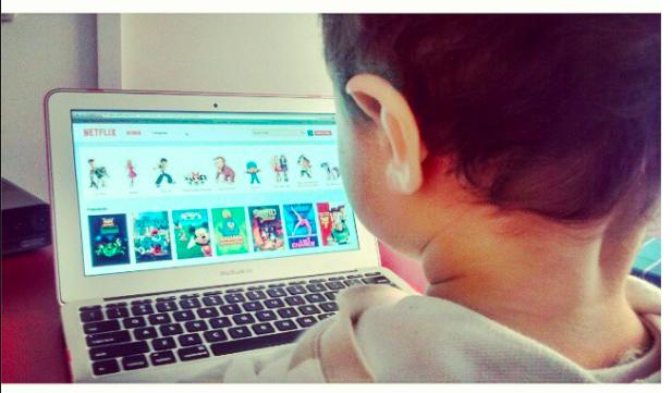 Sammy comenzando a usar Netflix