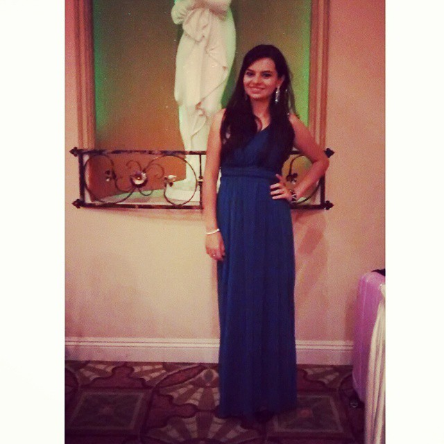 El vestido elegido en la Gala Club Rotario