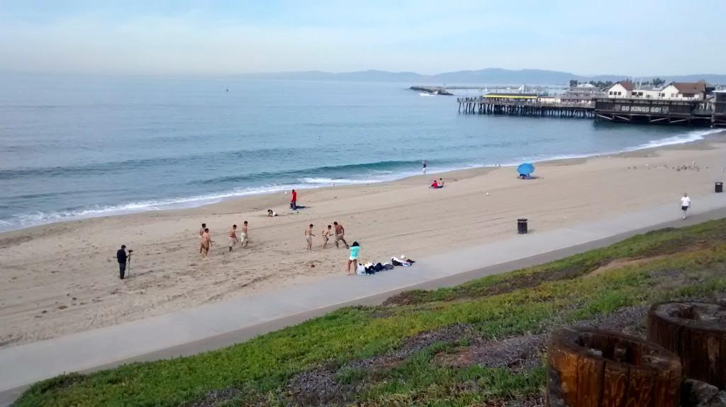 Primer lugar visitado, la Playa
