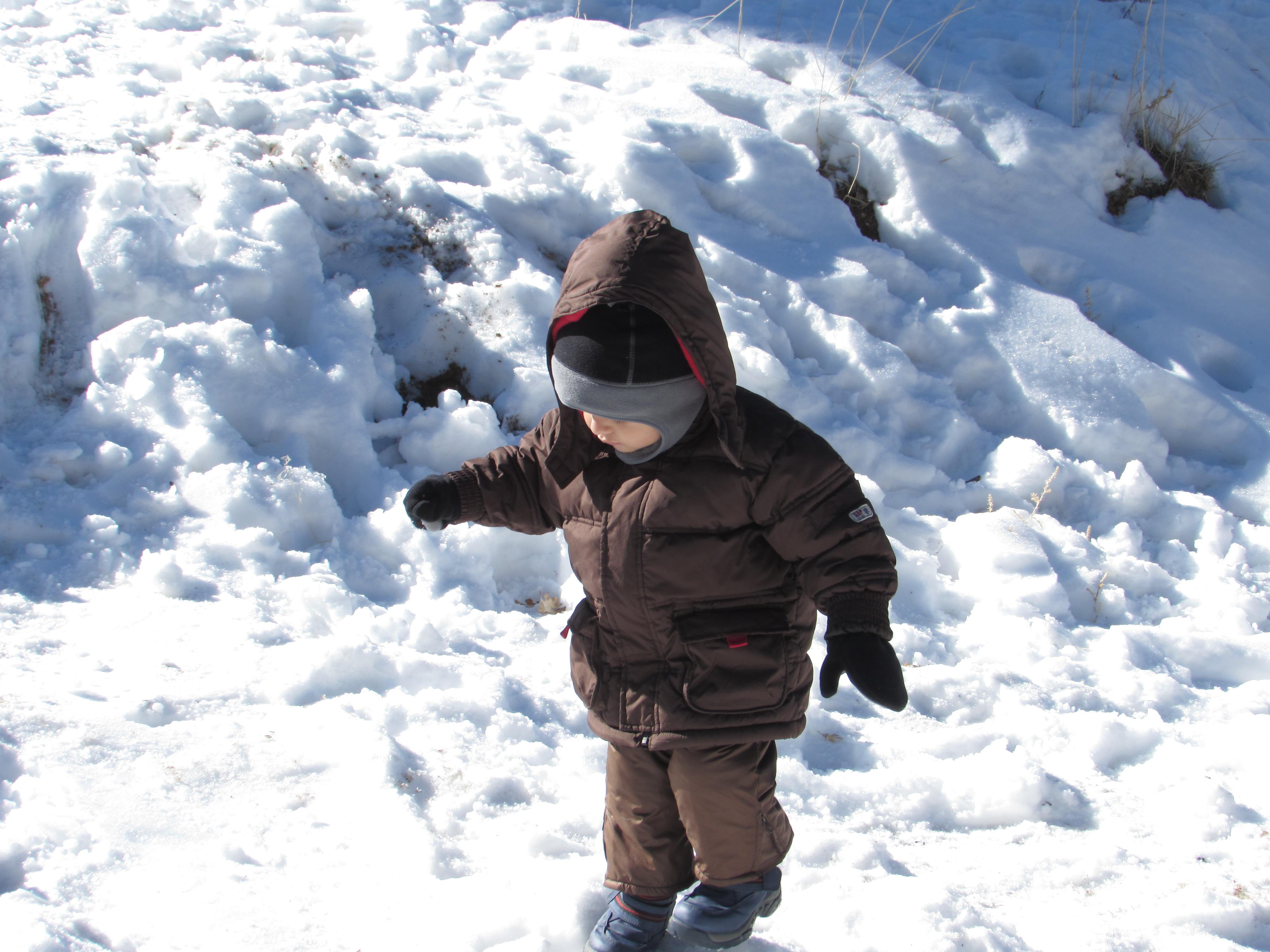 Sammy y su ropa de Nieve