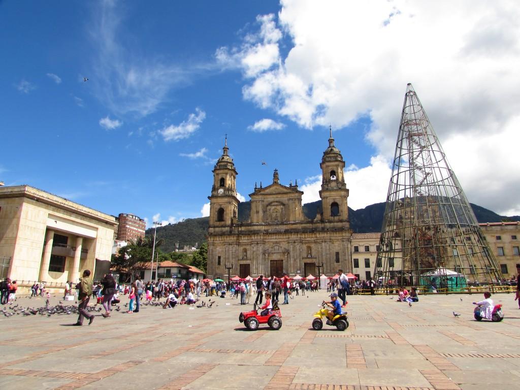 Viajar a Bogota con niños