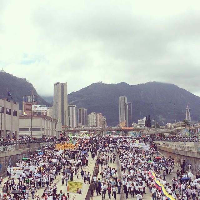 Marcha por la Paz 2015 foto Alvara Gaitan