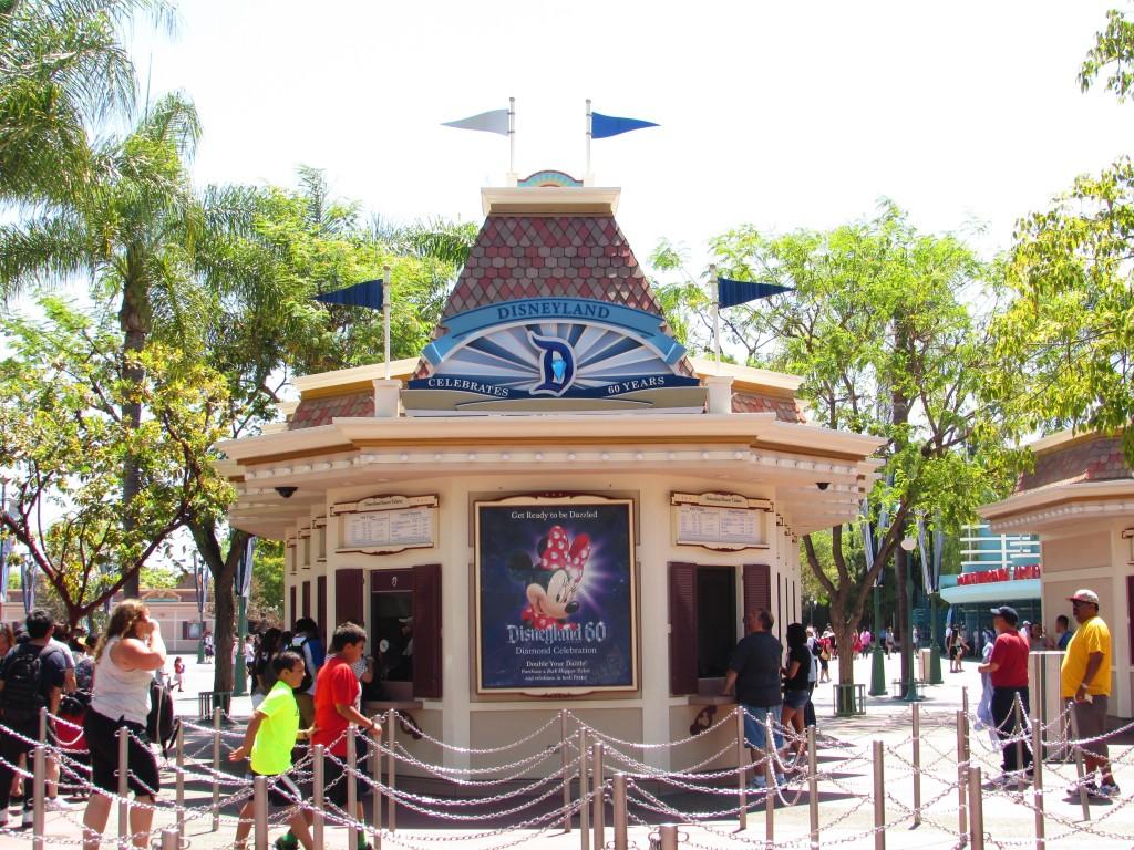 Entrada Disneyland California