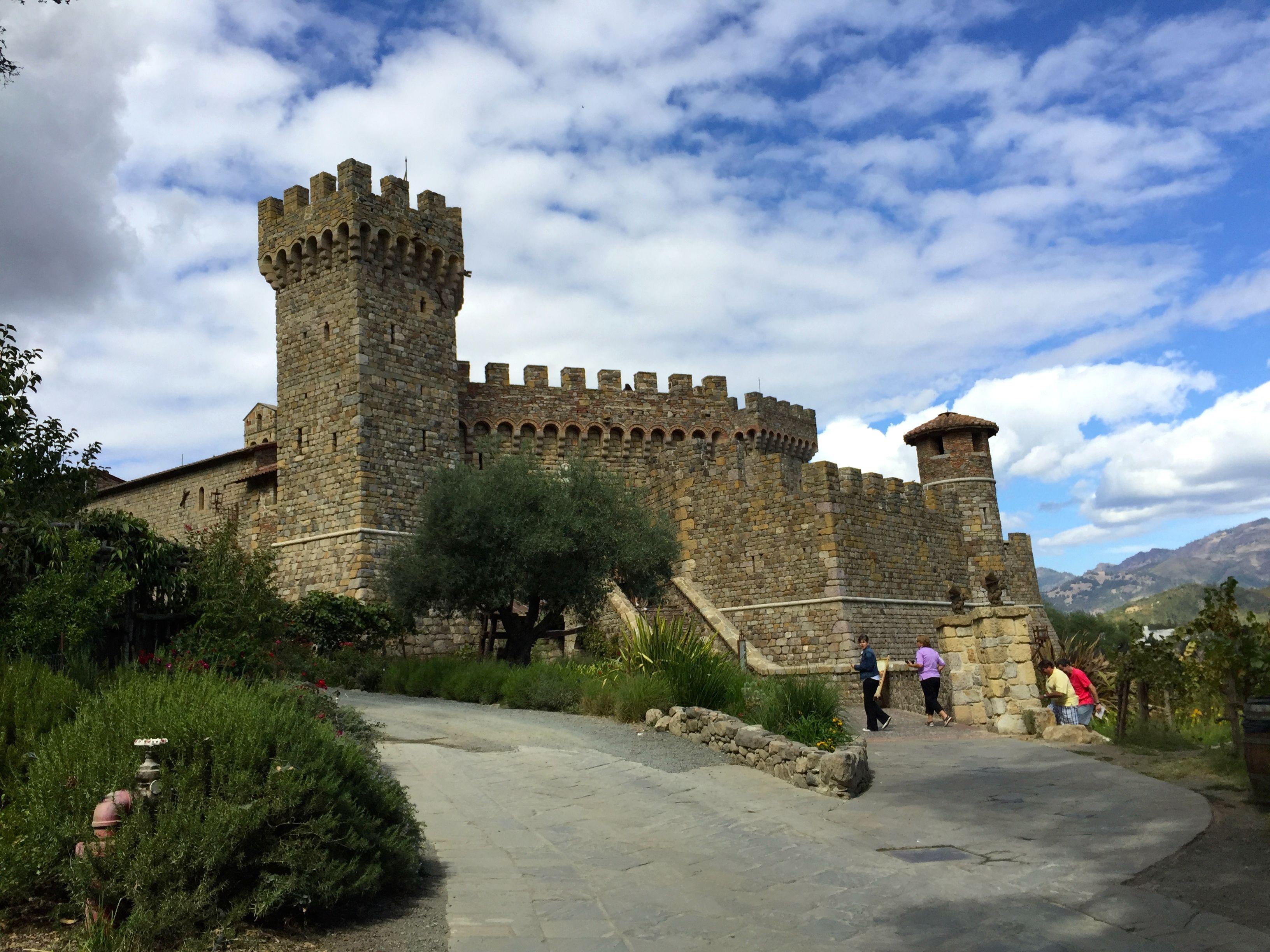 Castelo de Amorosa Napa Valley