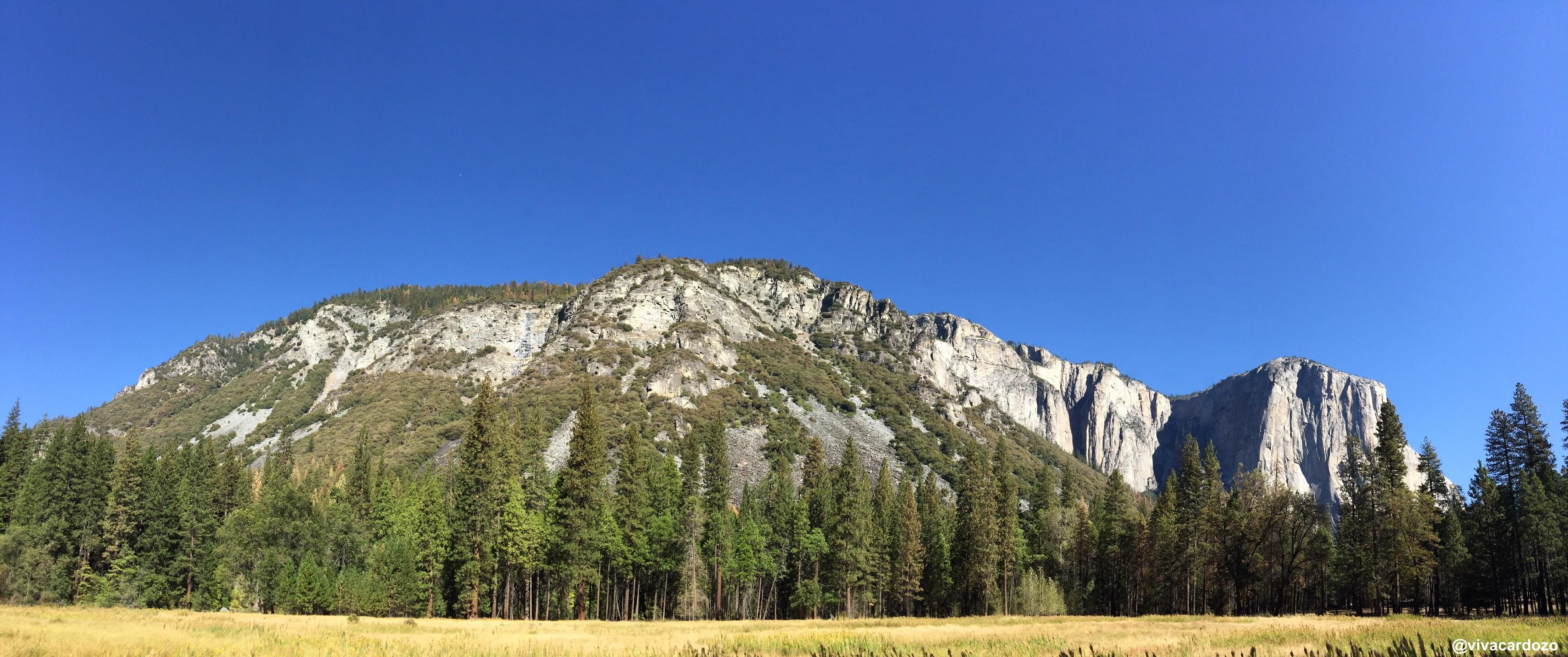 Una de las panorámicas en Yosemite