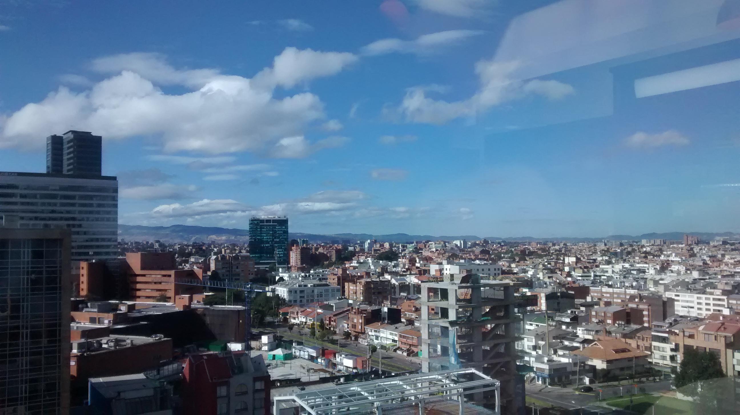 Una de las vistas de Bogota