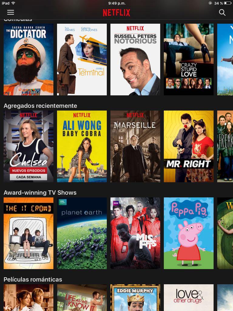 usar Netflix en Europa