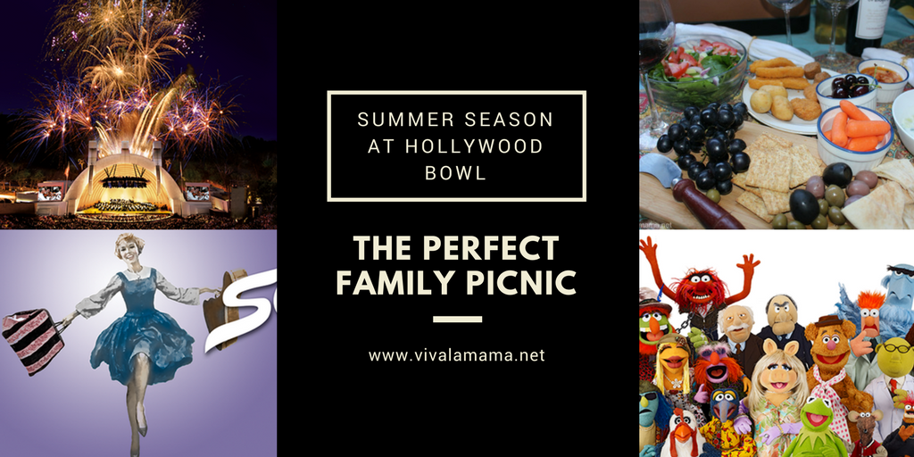 The perfect picnic for the Hollywood Bowl Summer Season