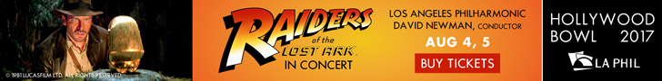 Raiders of the Lost Ark Hollywood Bowl