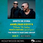 Gente de Zona at the Hollywood Bowl