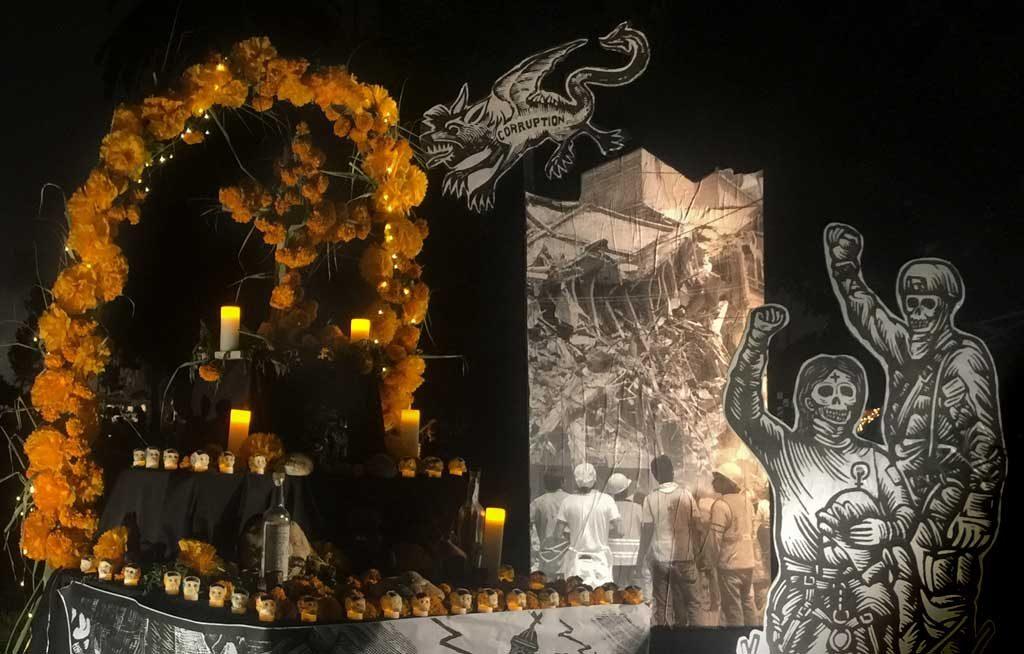 Dia de los muertos Los Angeles cementery